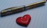 Heart writing 001